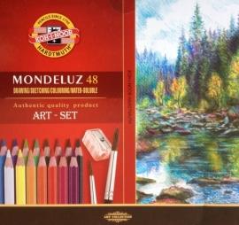 Koh-I-Noor Mondeluz Aquarel set ds 48 ass