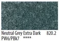 Panpastel Neutral Neutral Grey Extra Dark-2- 820.2