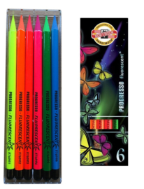 Koh-I-Noor Progresso VolColour stift  FLUORECENT