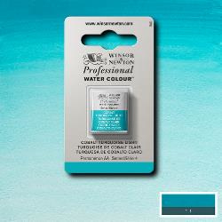 W&N Pro Water Colour ½ nap Cobalt Turquoise Light S.4
