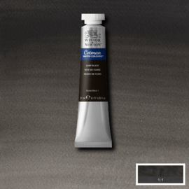 Cotman Lamp black 21 ml tube
