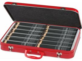Faber Castell Metale koffer met 300 grafiet potloden