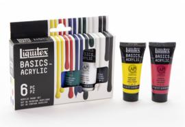Liquitex Basics set 6 x 22 ml