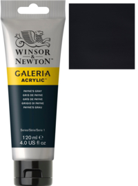 no.465- Galeria Acrylic Payne's gray  120 ml tube