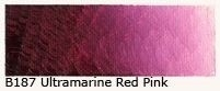 B-187 Ultramarine red pink 40ml
