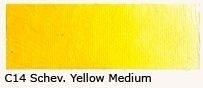 C-14 Scheveningen yellow medium 40 ml