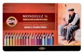 Mondeluz GOLD  Aquarel  36 potloden