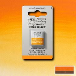 W&N Pro Water Colour ½ nap Cadmium Orange S.4