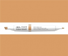 W&N Pigment marker Burnt umber light 110