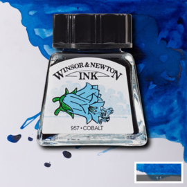 Winsor en Newton  Drawing Inkt Coblalt