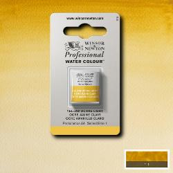 W&N Pro Water Colour ½ nap Yellow Ochre Light S.1