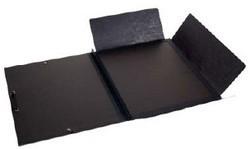 Clairfontaine tekenmap met elastiek 47x62 cm zwart met omslag