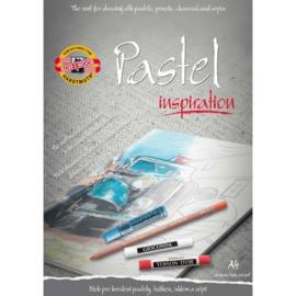 Koh-I-Noor Pastel blok Inspiration A4 (voorbedrukt)