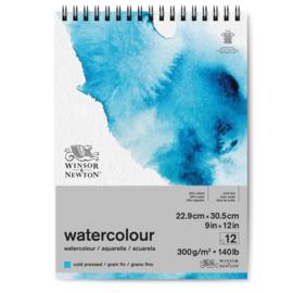 Winsor & Newton watercolour blok 22.9x30.5 cm ringband