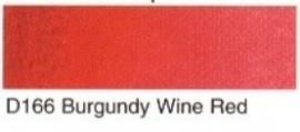 D166- Burbundy wine red