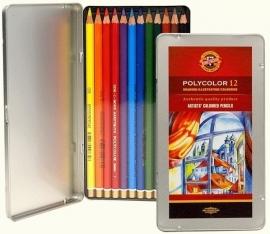 Koh-I-Noor Polycolor Kleurpotloden 12 stuks