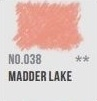 CAP-pastel potlood Madder lake  038
