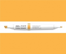 W&N Pigment marker Yellow gold light 091