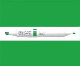 W&N Pigment marker Bright green  069