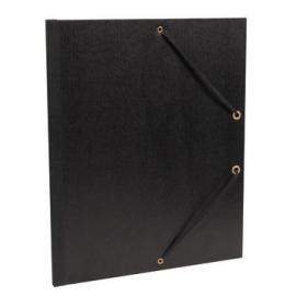 Clairfontaine tekenmap met elastiek 26x33 cm zwart