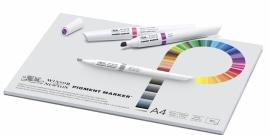Pigment marker Blok papier A4 -50 sheets-75 grams