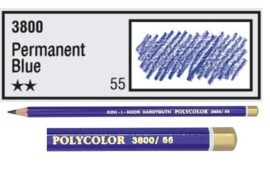 KIN-Polycolor nr.55   Permanent Bleu