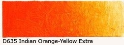D-635 Indian Orange-Yellow Ex. Acrylverf 60 ml