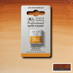 W&N Pro Water Colour ½ nap Brown Ochre S.1