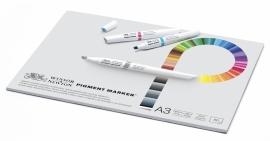 Pigment marker Blok papier A3 -50 sheets-75 grams