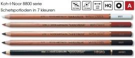 Koh-I-Noor schetspotlood 8800 serie p/s