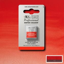 W&N Pro Water Colour ½ nap Cadmium Red S4