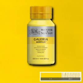 Winsor & Newton Galeria Acrylic Yellow (proces) 500 ml