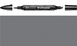 W&N Brushmarker CG-4-Cool grey 4