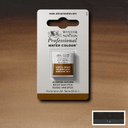 W&N Pro Water Colour ½ nap Van Dyke Brown S.1