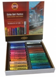 Extra soft pastel Set 24 stuks