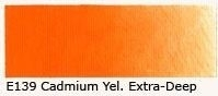 E-139 Cadmium-yellow extra deep 40 ml