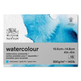 Winsor & Newton watercolour postcard blok
