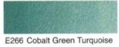 E266- Cobalt green turquoise
