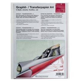AMI Transfer papier A4 Rood