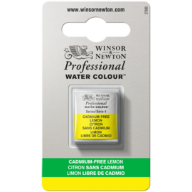 W&N Pro Water Colour ½ nap Cadmium FREE Lemon  S.4