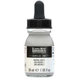 Liquitex Acrylic ink NEUTRAL GRAY 5
