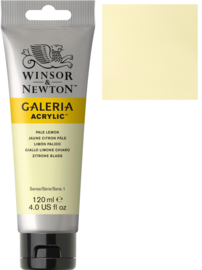 no.434 - Galeria Acrylic Pale Lemon 120 ml tube