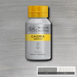 Winsor & Newton Galeria Acrylic Silver 500 ml