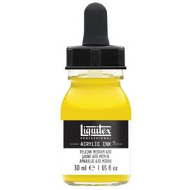 Liquitex Acrylic ink YELLOW MEDIUM AZO