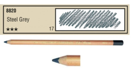 17-Pastelpotlood Staal grijs