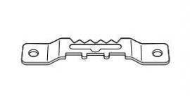 Tandhanger 40 mm