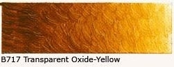 B-717 Transparent Oxide-Yellow Acrylverf 60 ml
