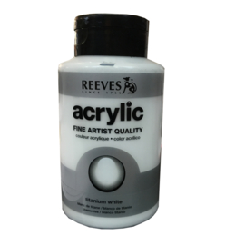 Reeves Acrylic  400 ml Titanium White