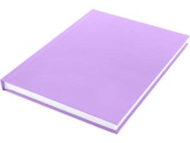 Dummy  A5 Wit papier- hard cover Violet 80 vel