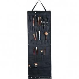 Atelier wand hanger zwart 50 x 140 cm